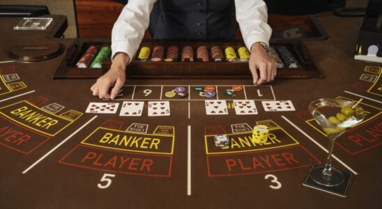 Baccarat game style